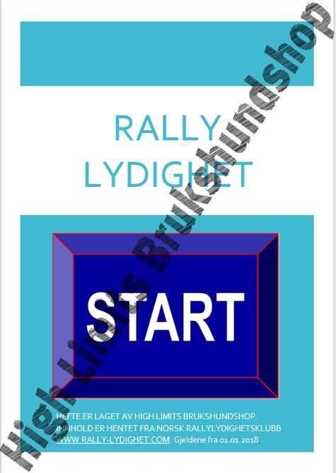 Bilde av Rally LP Hefte